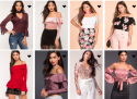 Blusas – Fashion Tops 2017: Pink, Blush, Wine and More