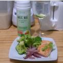 Receta de Salmón con Aceite de Coco y Broccoli (Bajar de Peso, Rebajar)