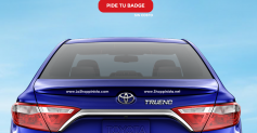 Gratis Nombre Personalizado para tu Toyota