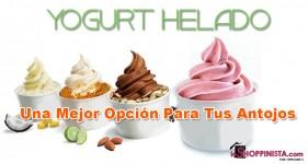 Yogurt Helado: Una Mejor Opción Para Tus Antojos