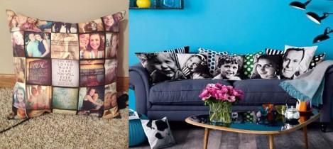 Regalos:  Almohadas Personalizadas con Fotos o Mensajes