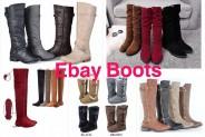 Ebay.com – Woman Boots – Botas de Mujer