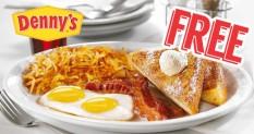 Denny's- Regalo de cumpleaños gratis
