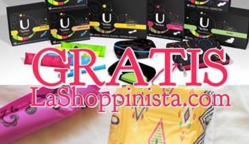 Muestras Gratis de Tampones y Pads U by Kotex