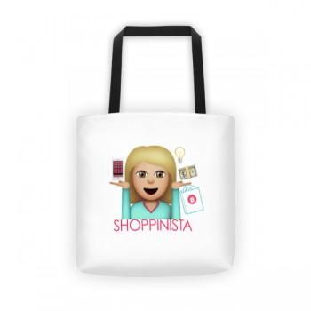 Shoppinista Emoji Blonde- Tote bag