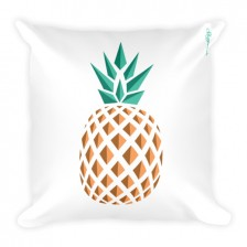 Single Pineapple Fever JUMBO Reversible Pillow