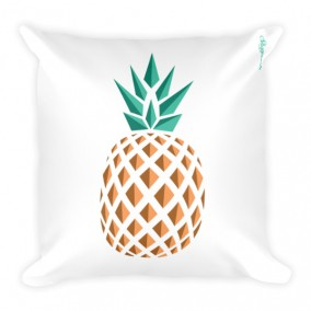 Single Pineapple Fever JUMBO Reversible Pillow