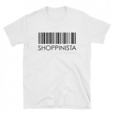 Shoppinista Barcode – Unisex T-Shirt