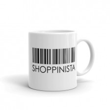 Shoppinista Barcode – MUG
