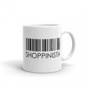 Shoppinista Barcode – MUG