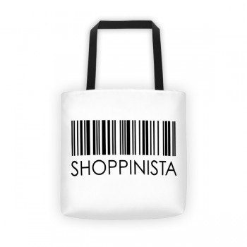 Shoppinista Barcode – Tote bag