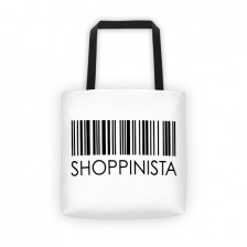 Shoppinista Barcode – Tote bag