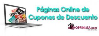 Páginas Online de Cupones de Descuento