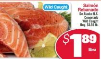 Especiales Shoppinista: Salmón Rebanado de Alaska US Congelado a $1.89 lb