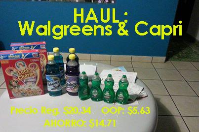 Compras Inteligente: Fabuloso a .35 centavos, Cereales General Mills a $1.49 y Líquido de Fregar Palmolive a .49