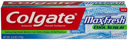 Compras Inteligentes: Pasta Dental Colgate Max Fresh, Anti Cavity, Total Base a $1