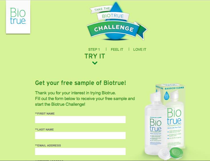 Muestras Gratis BioTrue