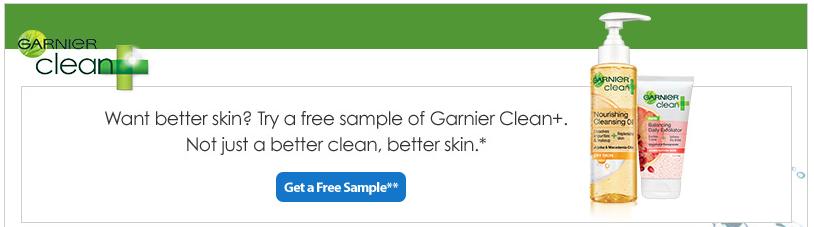 Muestras Gratis Limpiadora Facial Garnier