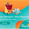 Gana Puntos con Pampers Rewards