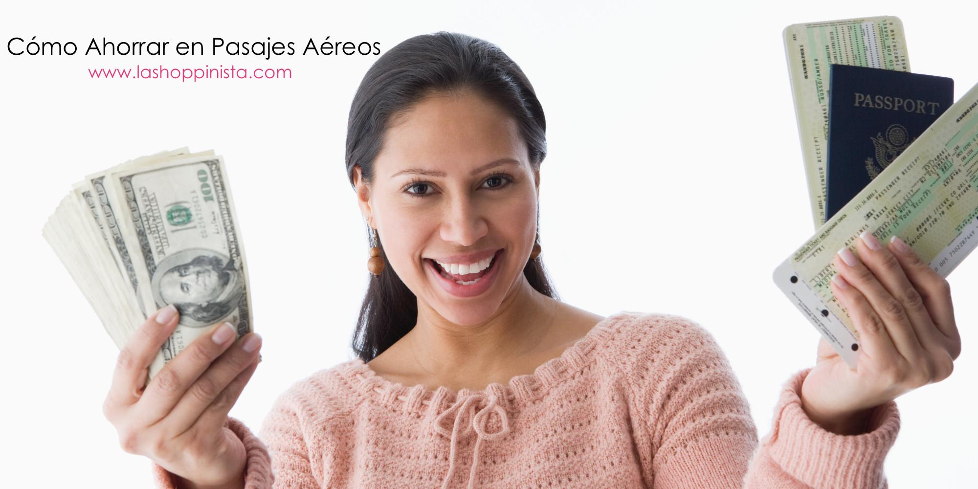 Cómo Ahorrar en Pasajes Aéreos