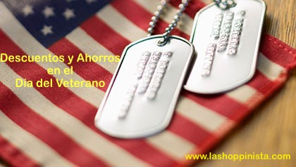 Descuentos y Ahorros en el Día del Veterano