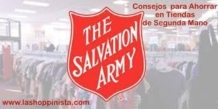 Salvation Army – Tips para Comprar en Tiendas de Segunda Mano