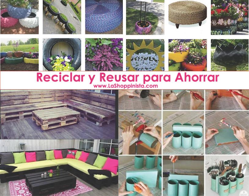 Wapa TV – Reciclar y Reusar para Ahorrar por La Shoppinista