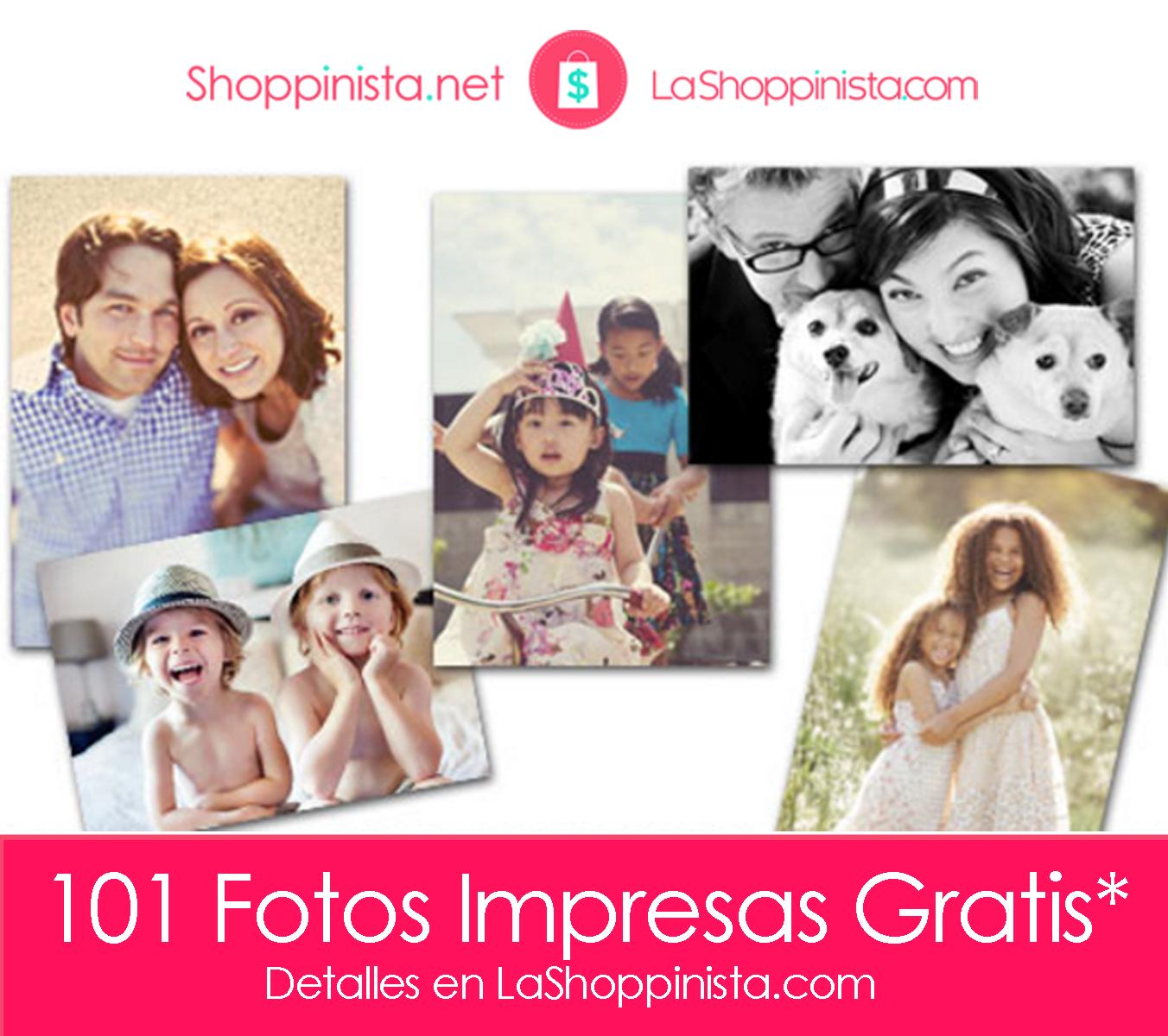 Shutterfly: 101 Free Prints – Fotos Impresas Gratis