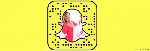 La Shoppinista en Snapchat