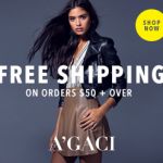 Free Shipping on orders $50 and over - Shop A'GACI Now!