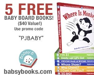 5 Free Board Books
