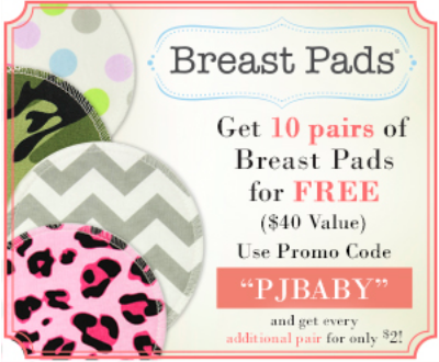 10 Free Breast Pads