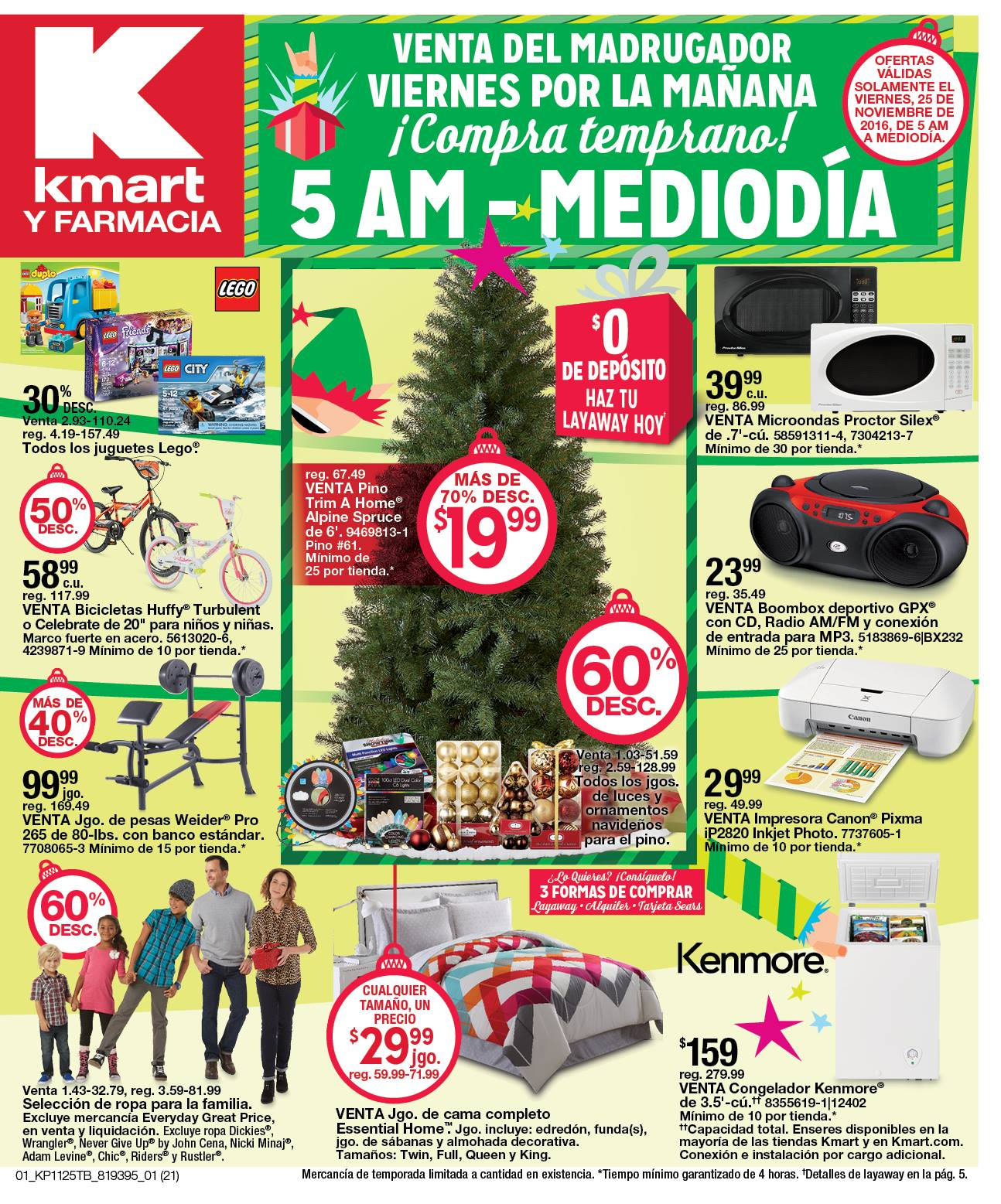 Shopper Kmart Puerto Rico – Black Friday (Venta del Madrugador)