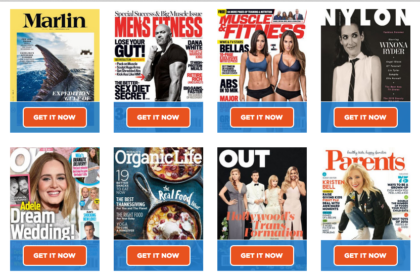 Free Magazines – Revistas Gratis