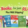 Dr. Seuss 5 Books for $5.95