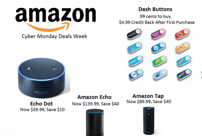 Amazon Cyber Monday Deals & Ad 2016