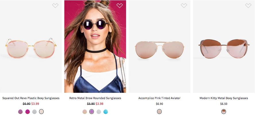 Gafas-Sunglasses $10 or Less