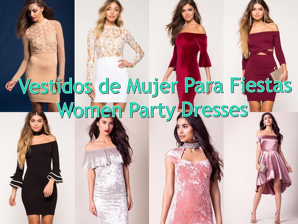 Party Women Dresses – Vestidos de Mujer Para Fiestas