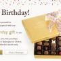 godiva free birthday gift- regalo de cumpleaños - la shoppinista
