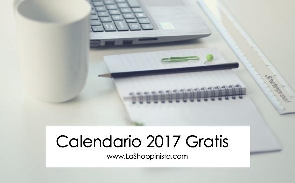 Calendario 2017 Gratis