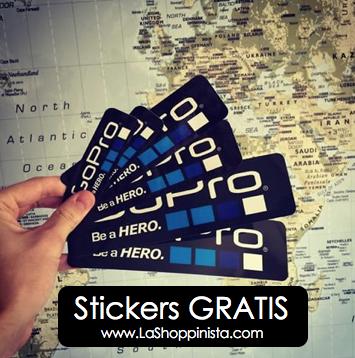 Sticker Gratis de GoPro