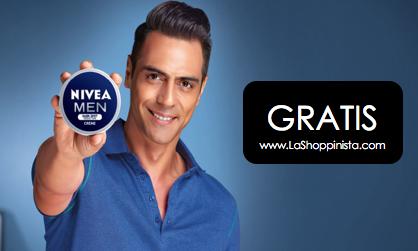 Muestra gratis de crema Nivea para hombre