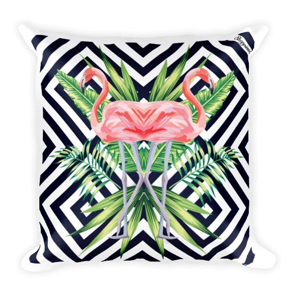 Flamingo Stripes JUMBO Pillow