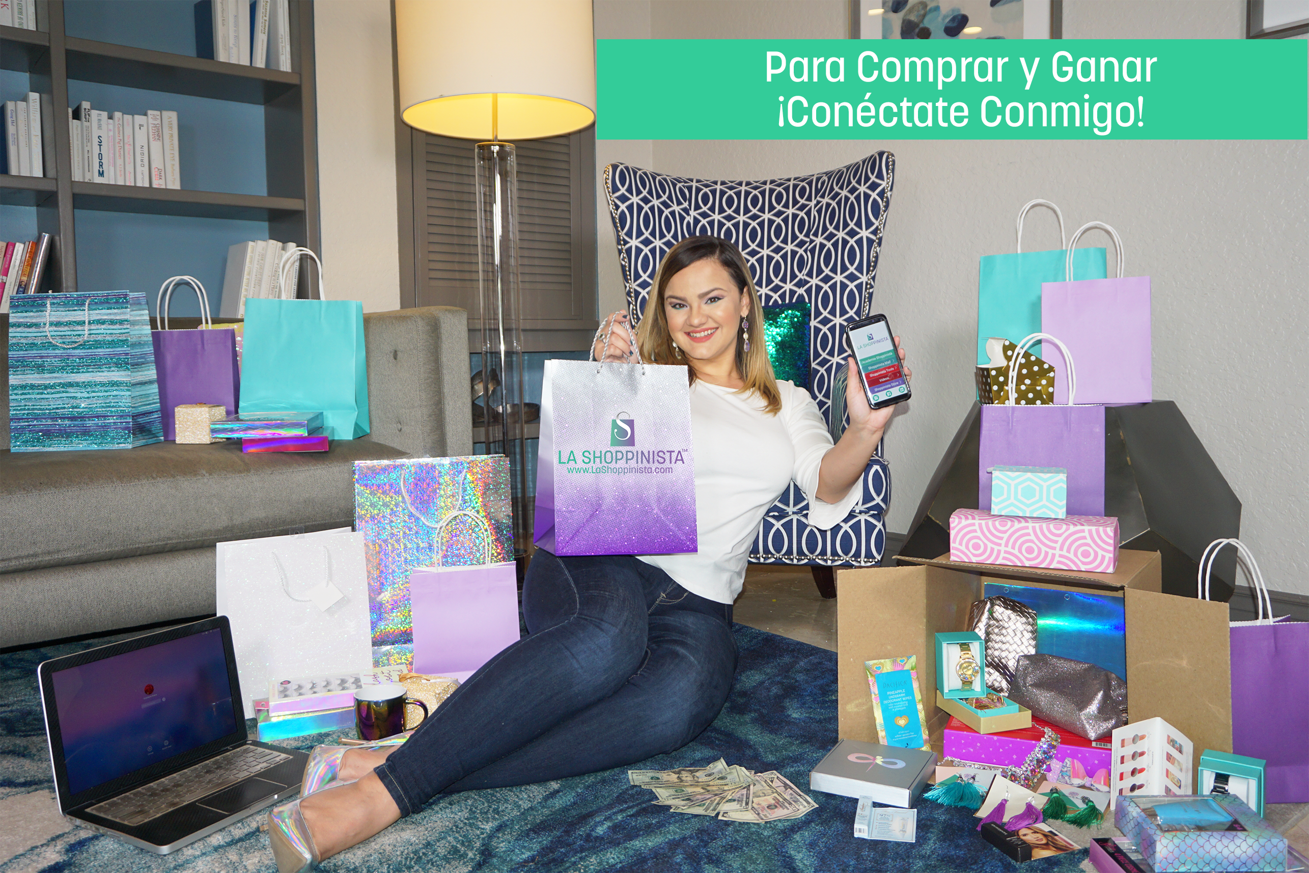 La Shoppinista Comprar y Ganar en FLorida, Estados Unidos, Texas, California, Puerto Rico, New Jersey, New York